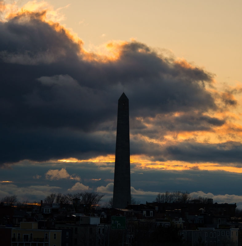 Bunker Hill Monument with Sky