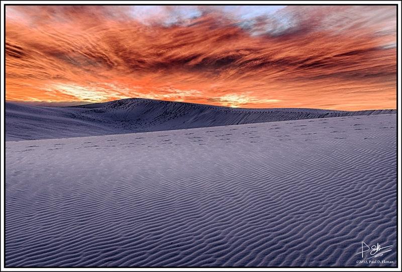 White Sands, Sunrise