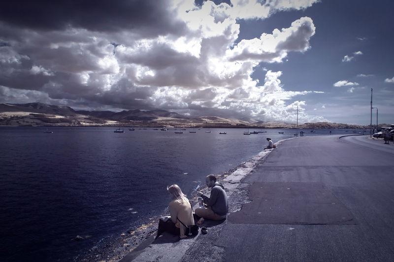 Contemplating the Menai Straits