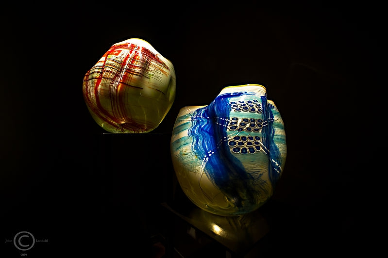 Dale Chihuly:-North Coast native gift baskets,