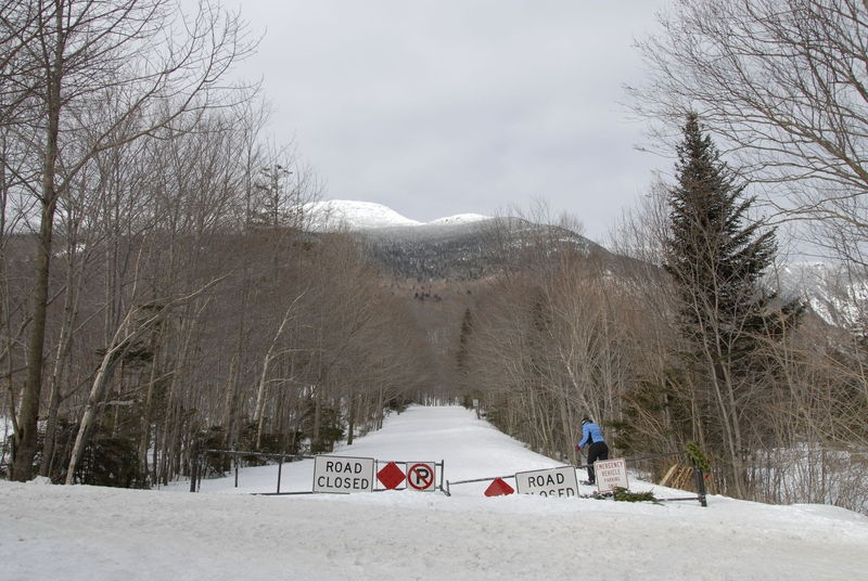 Vermont Rte. 108, closed for winter
