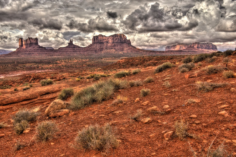 Showers in the Desert