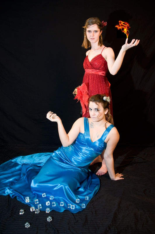 Fire and Ice Princesses