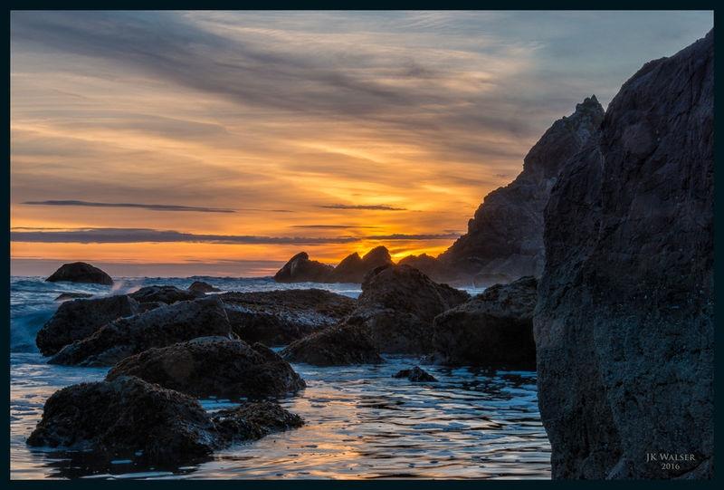 False Klamath Cove Sunset