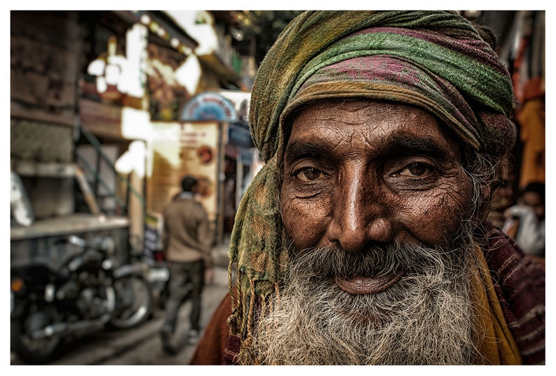 Sadhu in an Alley