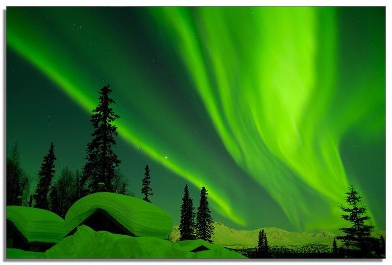 Alaska Winter Aurora