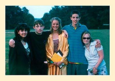 The Five at Graduation