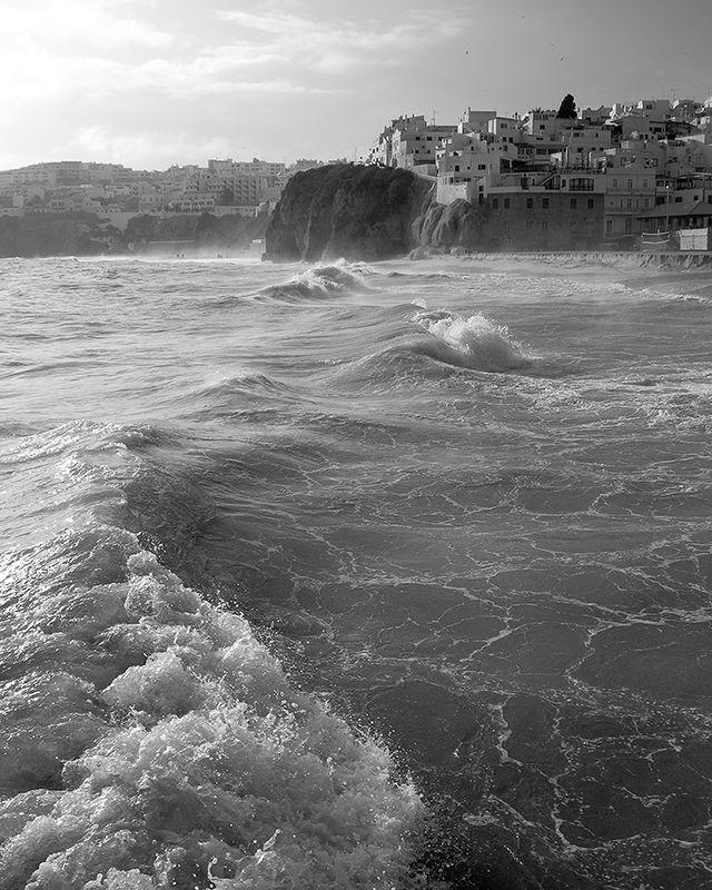 Storm in Albufeira