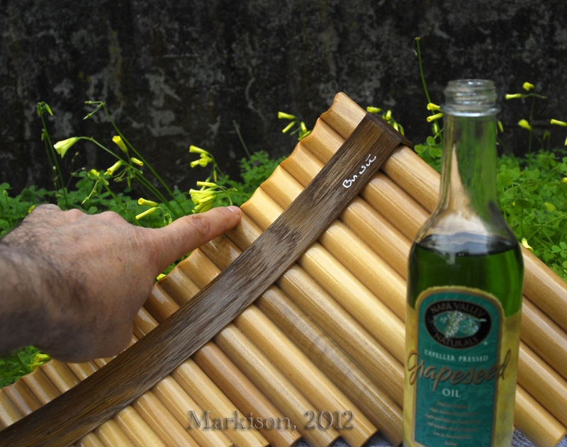 Pan Flute, Oiled for Speed