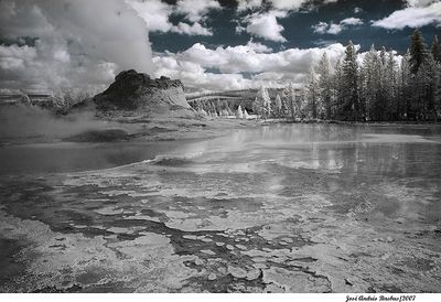 sulfur cauldron - Yellowstone