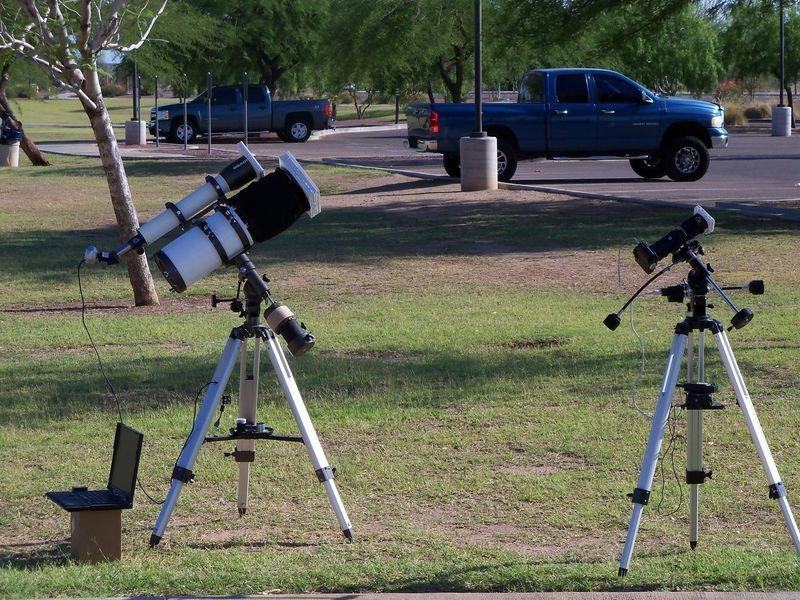 May 2012 Solar Eclipse Setup