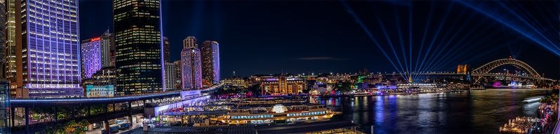 Vivid Sydney--Circular Quay