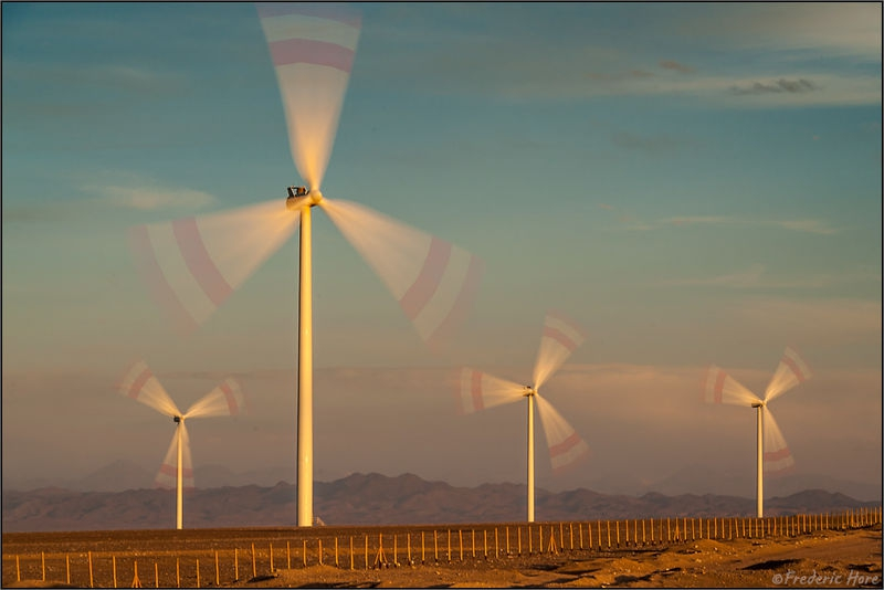 New Energy Source with Wind Turbines