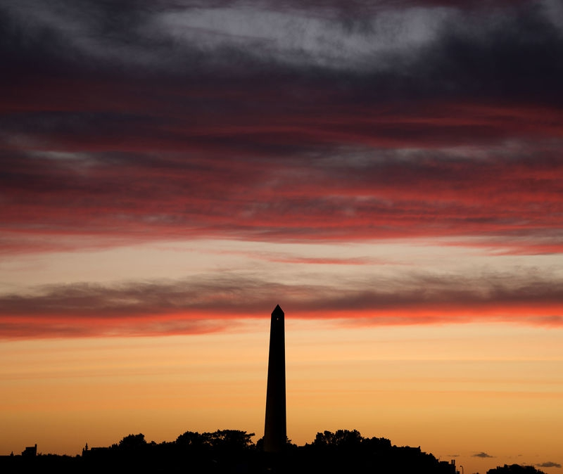 Big Sky Over Bunker Hill Monument