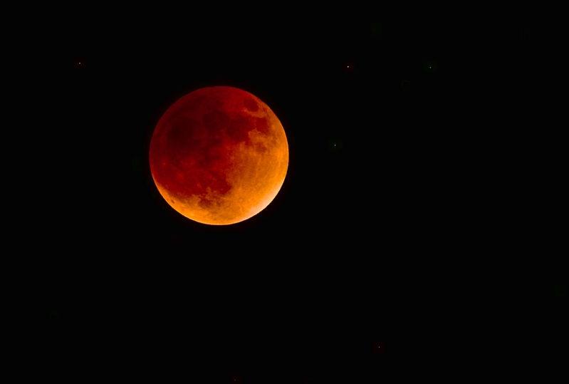 Eclipse 8pm southern Ca.