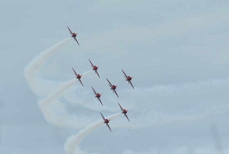 Royal Airforce Red Arrows Display Team