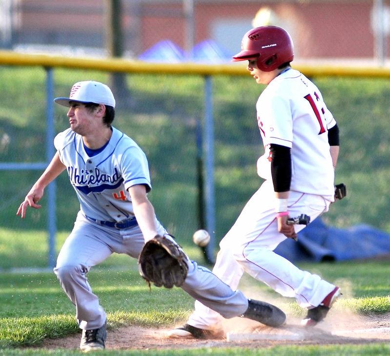Greenwood Indiana -Center Grove VS Whiteland Boys JV Baseball April 27 2018