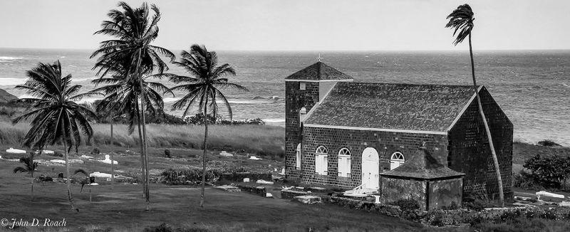 Little Church on St. Kitts