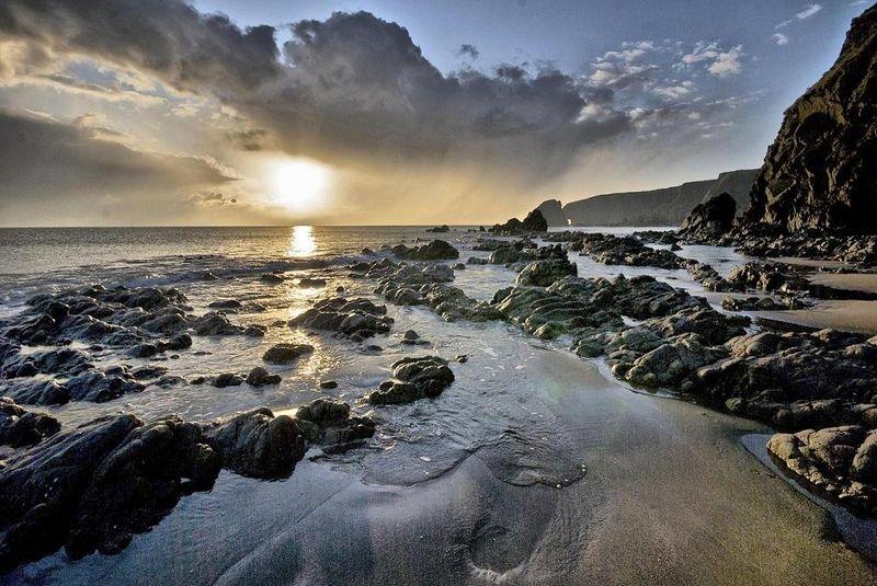 Sunset at Kilfarassey
