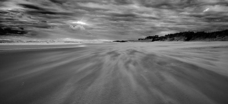 Frisco beach sunset, Outer Banks NC