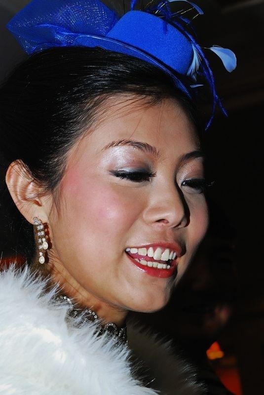 Blue Hat Bride