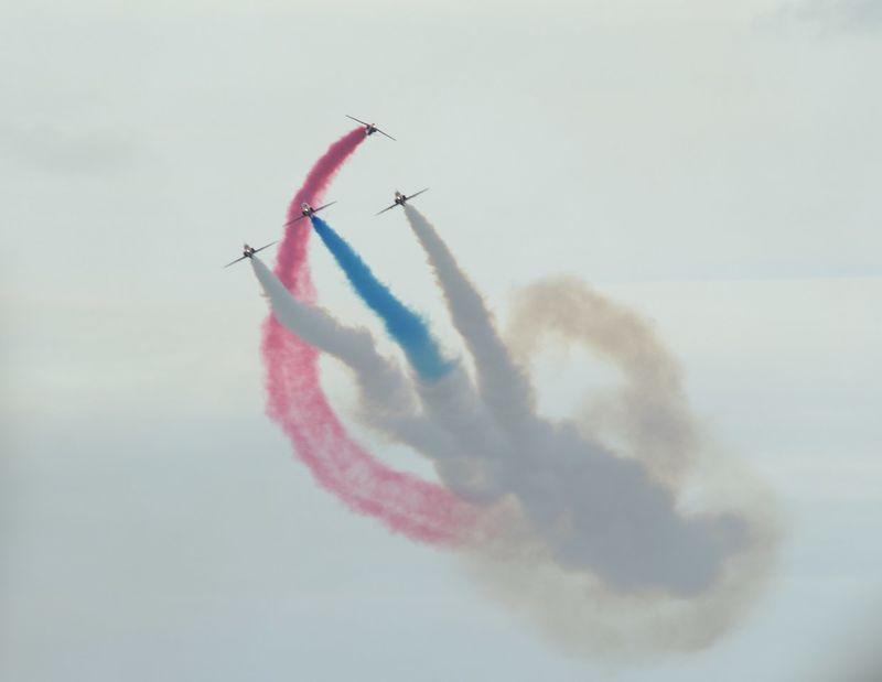 Royal Airforce Red Arrows Display Team