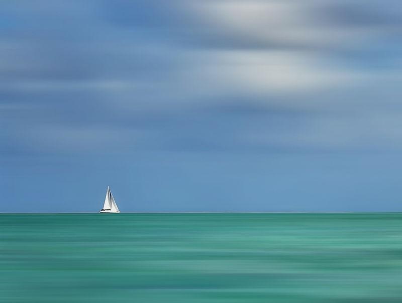 Sailing at Bora Bora