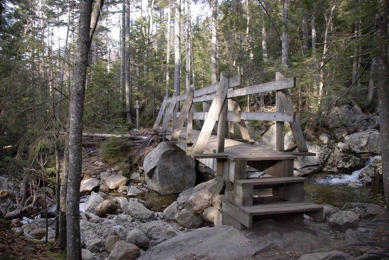 Wooden Bridge, Crawford Path - White Mountains, New Hampshire