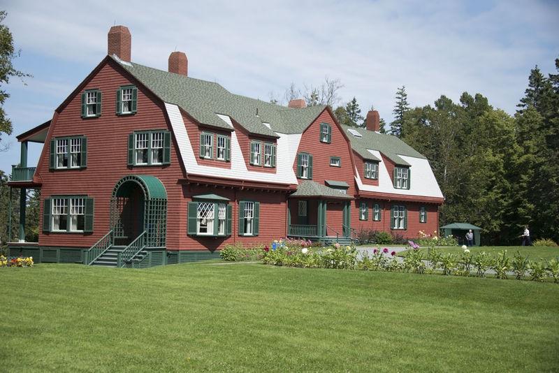 Roosevelt's Home - Roosevelt Campobello International Park