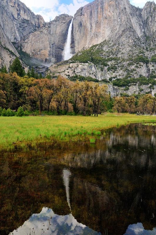 Falls Reflection