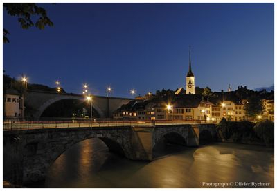 Berne, The Matte at night