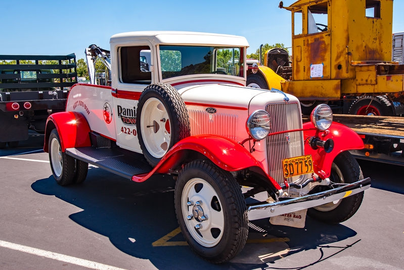 Vintage Tow Truck