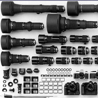 Kompatibilitäts: Nikon Spiegelreflexkameras und Objektive
