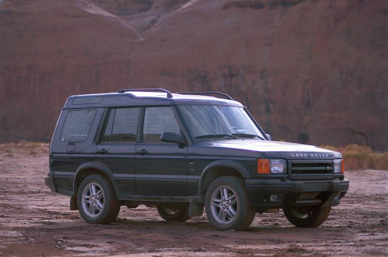 The land rover of JRP and Bo