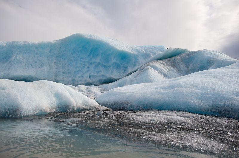 Spencer Lake iceberg detail