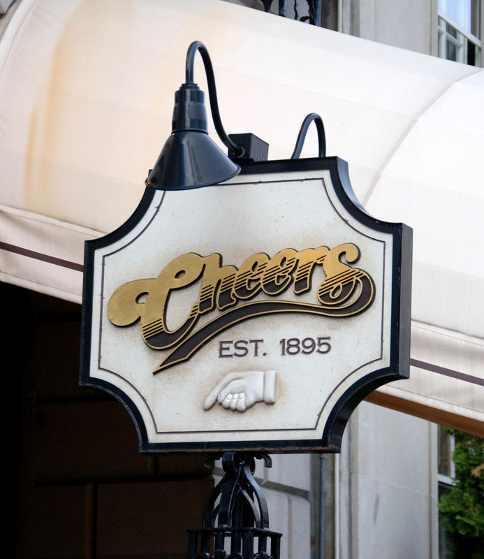 """""""CHEERS""""  series classic sign..."""