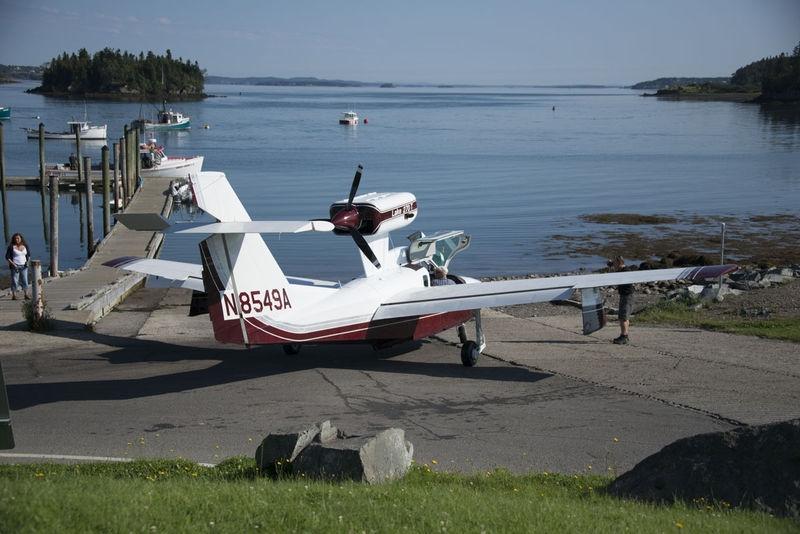 Seaplane - Lubec, Maine
