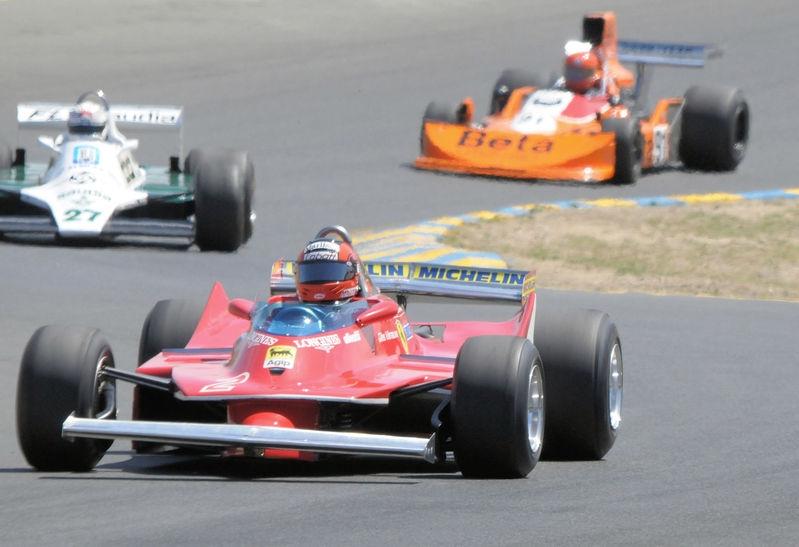 August 2009, Historic Grand Prix Cars, Turn 3