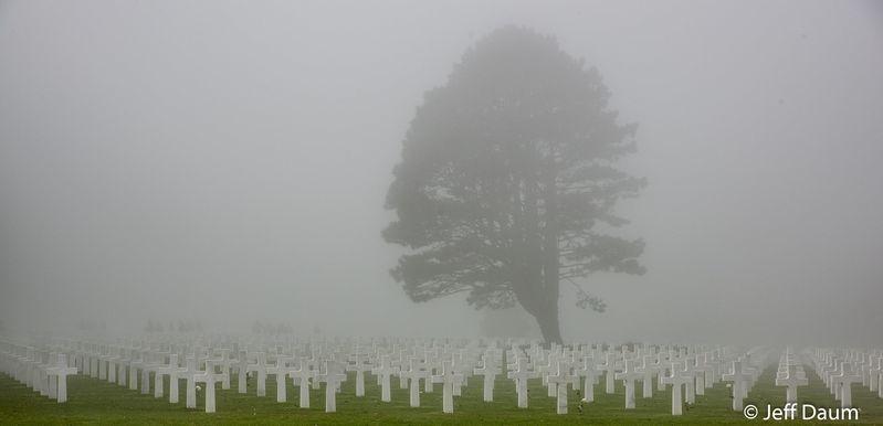 Normandy in a Shroud of Fog