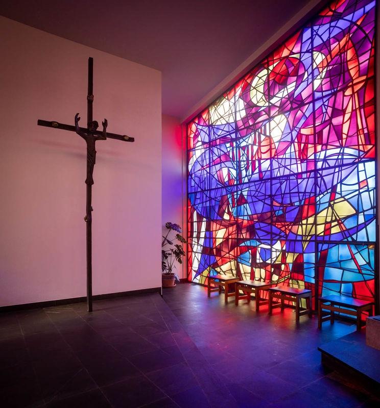 Inside the Catholic church, Boudry