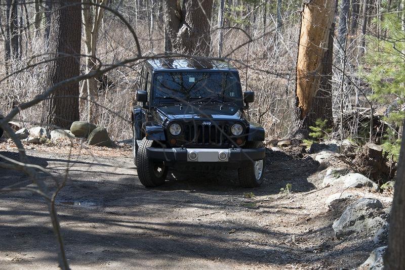 Jeep - Hamlen Woods, Sudbury MA