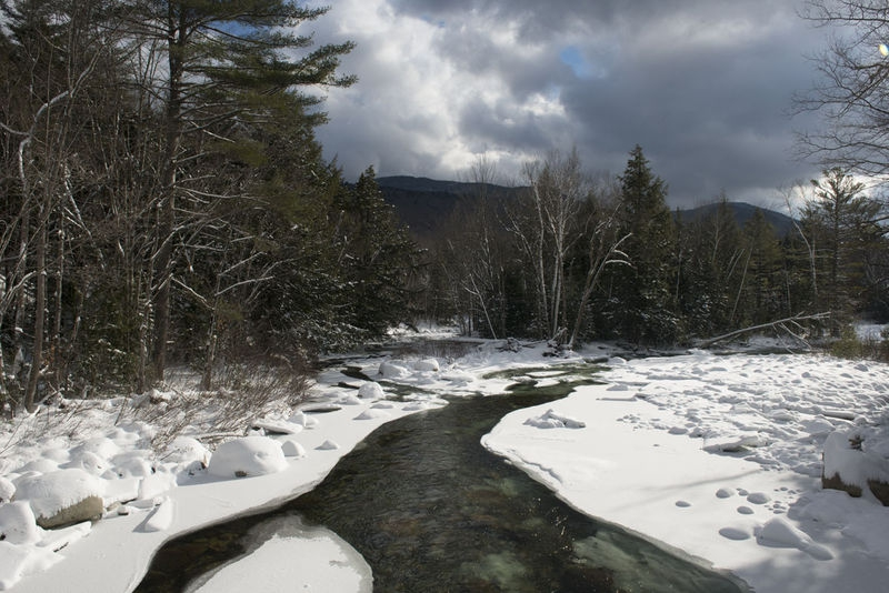 Franconia Falls Trail, White Mountain National Forest, NH