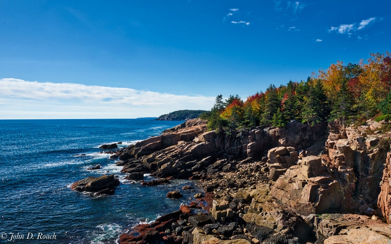 Fall on the Maine Coast in Acadia NP