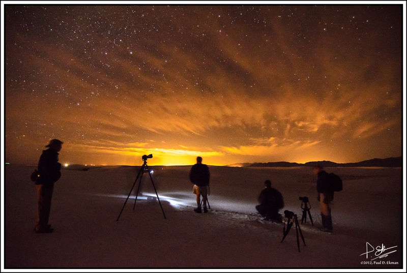 Predawn Light-Painting, The Making Of..