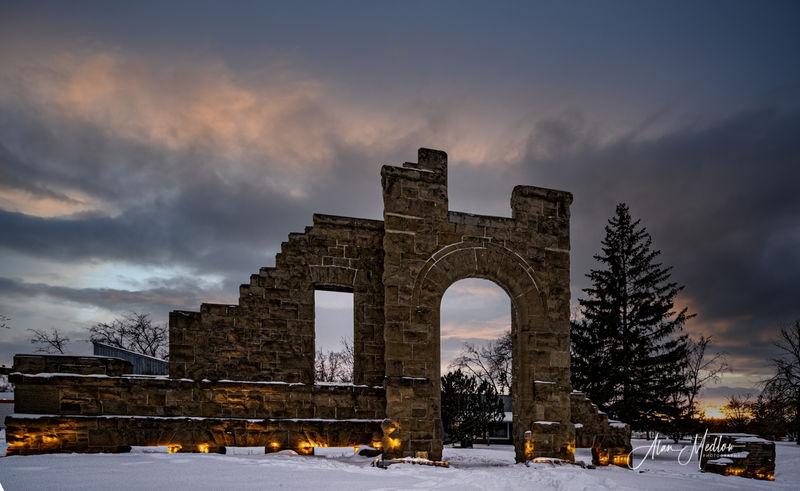 Rundel Ruins Calgary