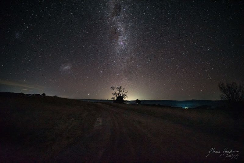 Sunset to Milkyway Core rise