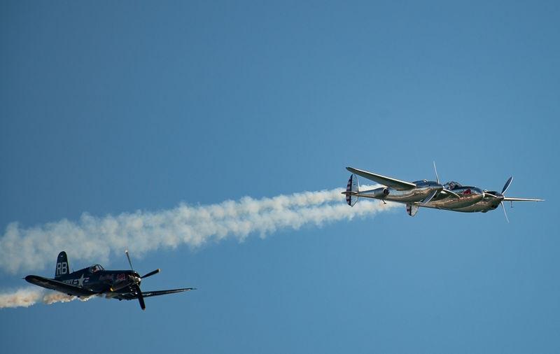 P38 & Corsair - Jersey Int. Air Display