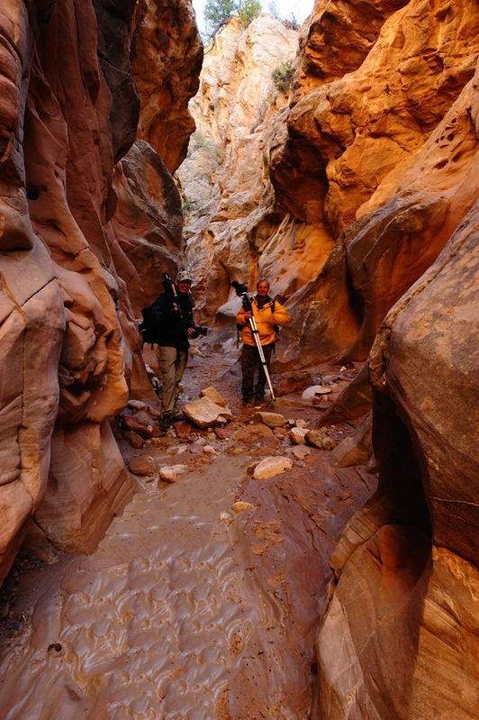Bo and Bob at the lost canyon