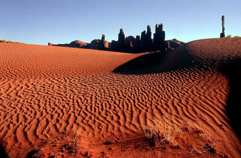ANPAT2 - Sand Dunes -  Yei-Bi-Chei and Totem Pole Pinnacles