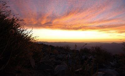 Sunset at La Silla